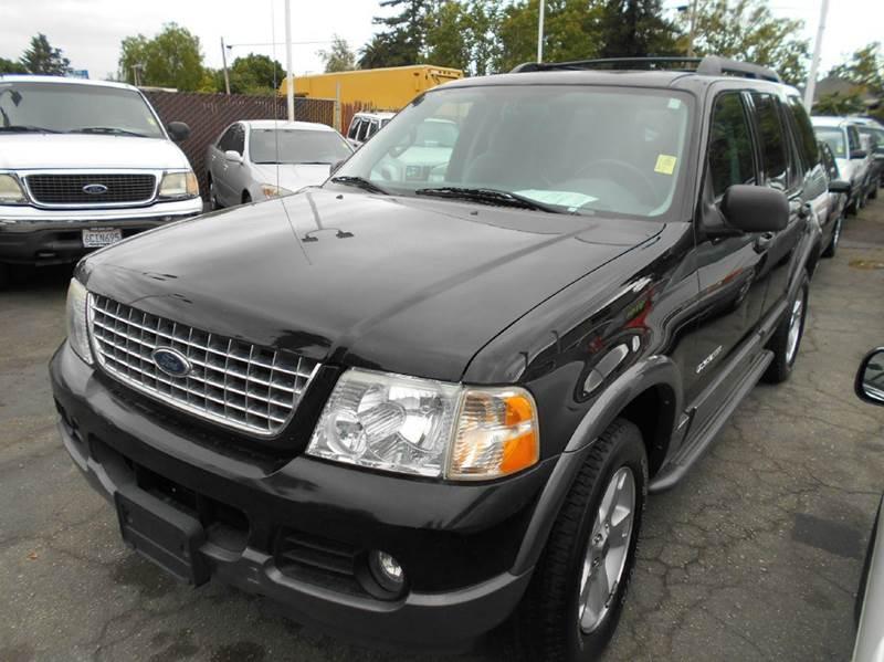 2005 FORD EXPLORER XLT 4DR SUV black abs - 4-wheel alloy wheels axle ratio - 355 center conso