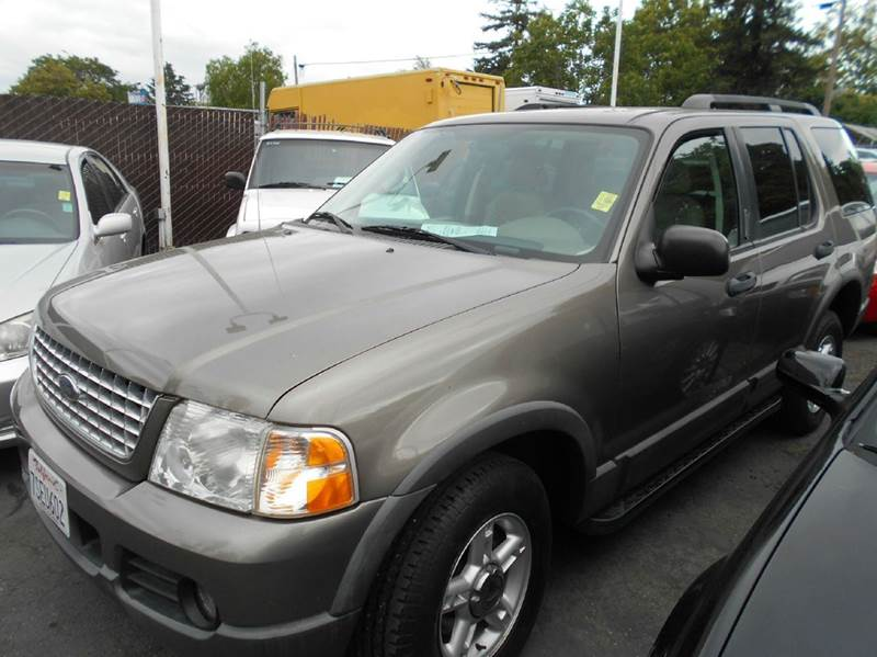 2003 FORD EXPLORER XLT 4DR SUV brown abs - 4-wheel anti-theft system - alarm axle ratio - 355