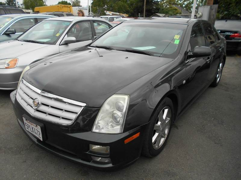 2005 CADILLAC STS BASE 46 4DR SEDAN charcoal abs - 4-wheel airbag deactivation - occupant sensi