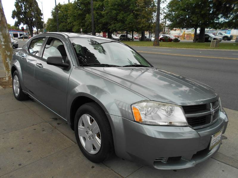 2008 DODGE AVENGER SE 4DR SEDAN gray 2-stage unlocking doors airbag deactivation - occupant sens