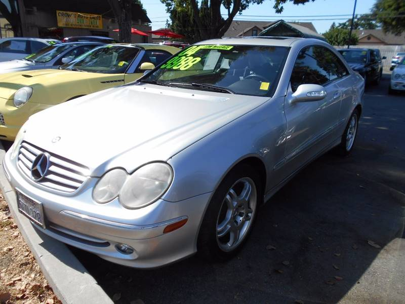 2004 MERCEDES-BENZ CLK CLK 320 2DR COUPE silver front air conditioning front air conditioning -
