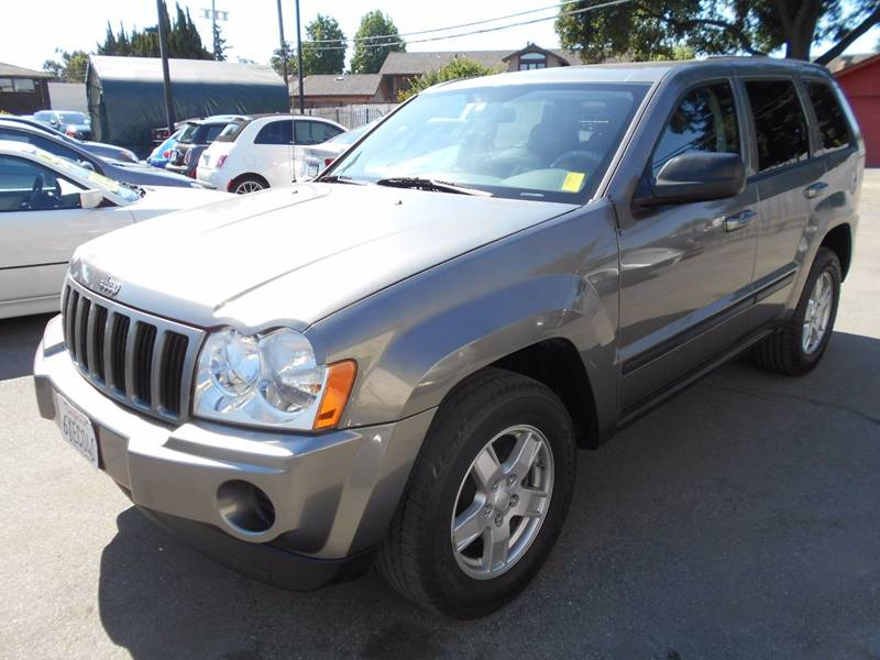 2007 JEEP GRAND CHEROKEE LAREDO 4DR SUV 4WD gray front air conditioning front air conditioning z