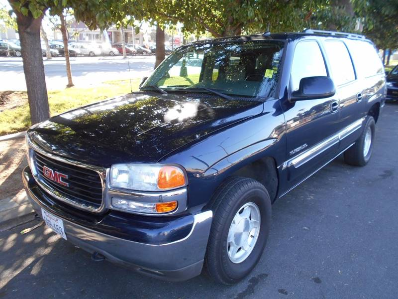 2005 GMC YUKON XL 1500 SLE 4DR SUV blue front air conditioning - automatic climate control front