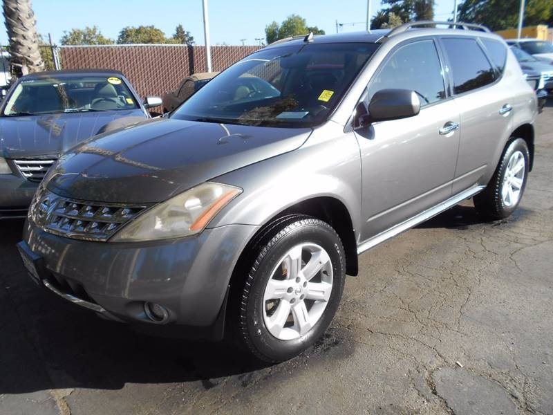 2006 NISSAN MURANO SL AWD 4DR SUV charcoal grille color - chrome rear spoiler air filtration a