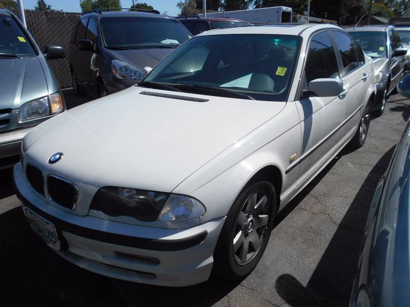 2000 BMW 3 SERIES 323I 4DR SEDAN white front air conditioning front air conditioning - automatic