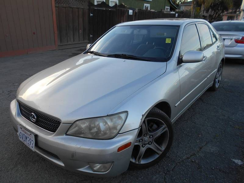2002 Lexus IS 300 4dr Sedan   San Jose CA