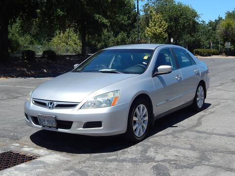 2007 Honda Accord for sale at Crow`s Auto Sales in San Jose CA