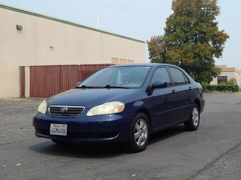 2006 Toyota Corolla for sale at Crow`s Auto Sales in San Jose CA