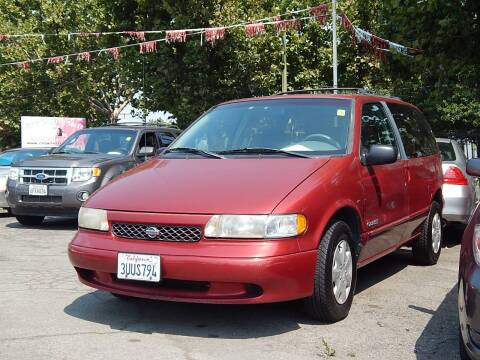 1997 Nissan Quest for sale at Crow`s Auto Sales in San Jose CA