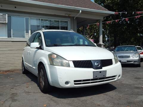 2005 Nissan Quest for sale at Crow`s Auto Sales in San Jose CA