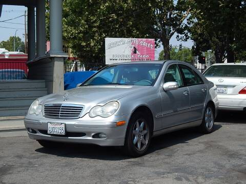 2002 Mercedes-Benz C-Class for sale at Crow`s Auto Sales in San Jose CA