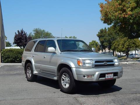 2000 Toyota 4Runner for sale at Crow`s Auto Sales in San Jose CA