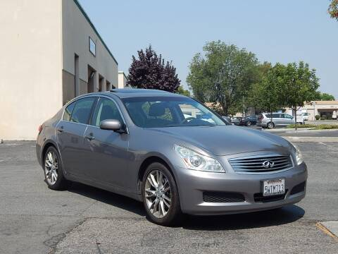 2007 Infiniti G35 for sale at Crow`s Auto Sales in San Jose CA