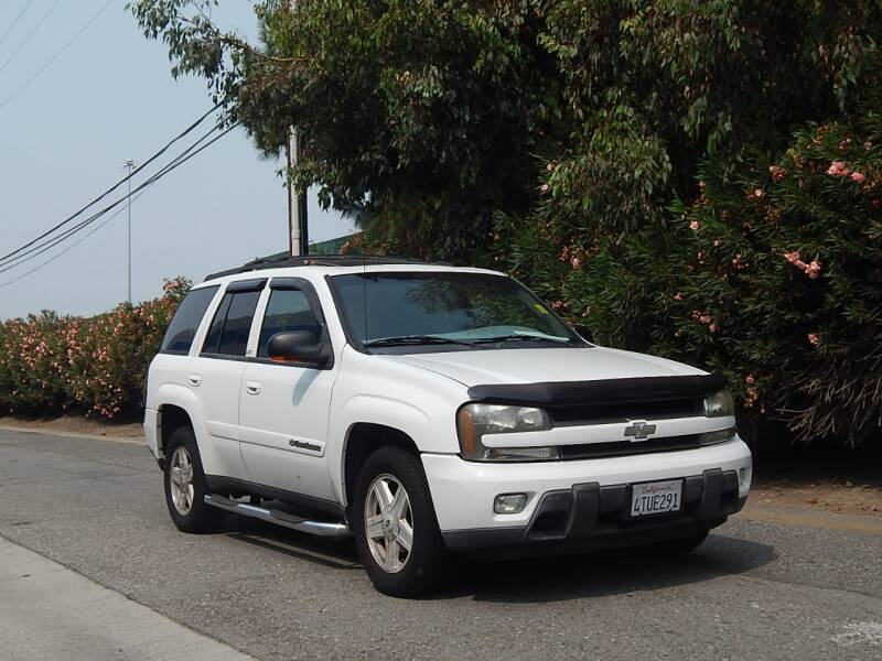 2002 Chevrolet TrailBlazer for sale at Crow`s Auto Sales in San Jose CA