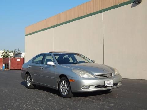 2003 Lexus ES 300 for sale at Crow`s Auto Sales in San Jose CA