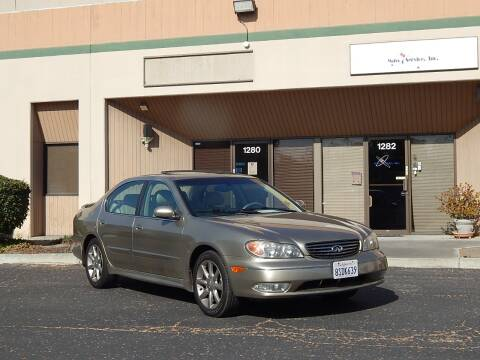 2002 Infiniti I35 for sale at Crow`s Auto Sales in San Jose CA