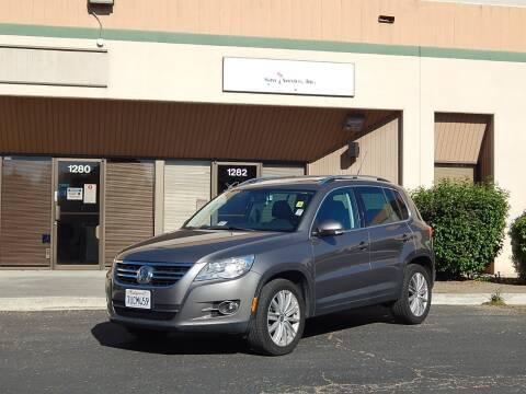 2010 Volkswagen Tiguan for sale at Crow`s Auto Sales in San Jose CA