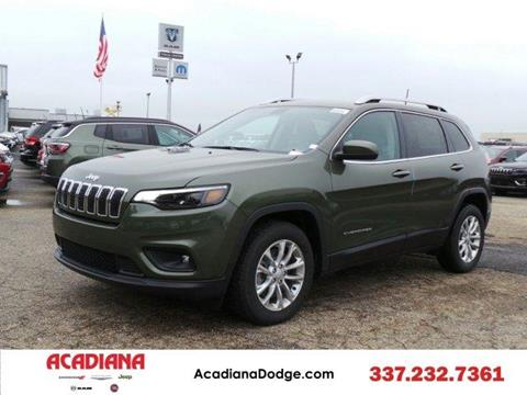 2019 Jeep Cherokee for sale at ACADIANA DODGE CHRYSLER JEEP in Lafayette LA