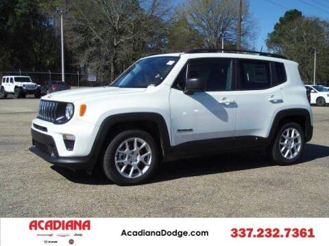 2020 Jeep Renegade for sale at ACADIANA DODGE CHRYSLER JEEP in Lafayette LA