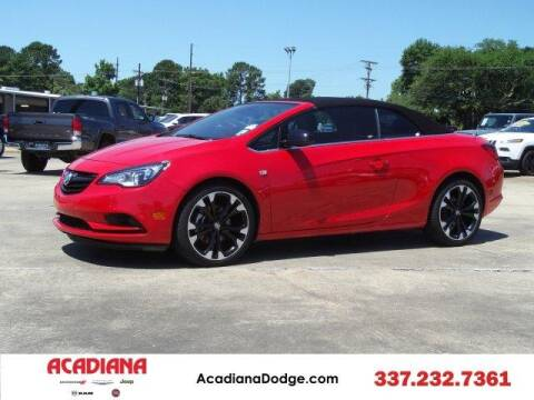 2017 Buick Cascada for sale at ACADIANA DODGE CHRYSLER JEEP in Lafayette LA