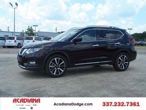 2020 Nissan Rogue for sale at ACADIANA DODGE CHRYSLER JEEP in Lafayette LA