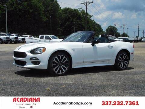 2020 FIAT 124 Spider for sale at ACADIANA DODGE CHRYSLER JEEP in Lafayette LA