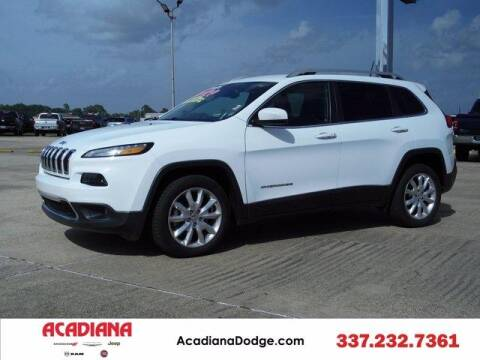 2017 Jeep Cherokee for sale at ACADIANA DODGE CHRYSLER JEEP in Lafayette LA