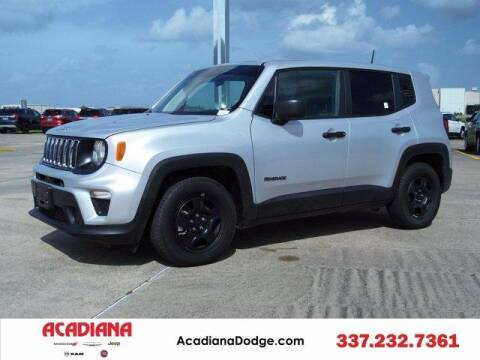 2019 Jeep Renegade for sale at ACADIANA DODGE CHRYSLER JEEP in Lafayette LA