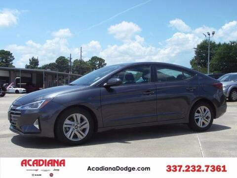 2020 Hyundai Elantra for sale at ACADIANA DODGE CHRYSLER JEEP in Lafayette LA