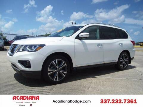 2017 Nissan Pathfinder for sale at ACADIANA DODGE CHRYSLER JEEP in Lafayette LA