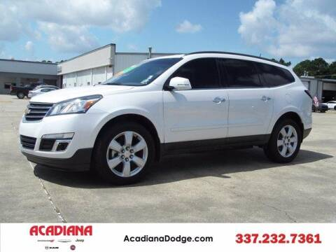 2016 Chevrolet Traverse for sale at ACADIANA DODGE CHRYSLER JEEP in Lafayette LA