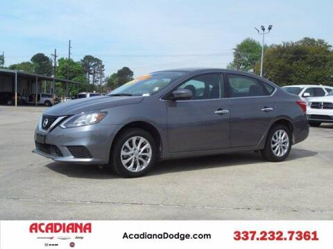 2019 Nissan Sentra for sale at ACADIANA DODGE CHRYSLER JEEP in Lafayette LA