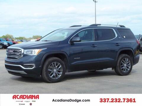 2019 GMC Acadia for sale at ACADIANA DODGE CHRYSLER JEEP in Lafayette LA