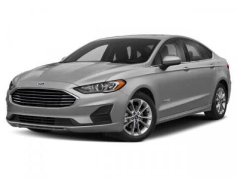 2019 Ford Fusion Hybrid for sale at ACADIANA DODGE CHRYSLER JEEP in Lafayette LA