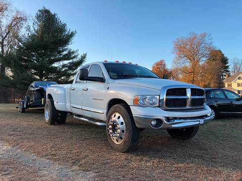 2004 Dodge Ram Pickup 3500 for sale at East Windsor Auto in East Windsor CT