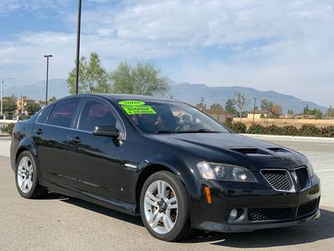 2008 Pontiac G8 for sale in Rialto, CA