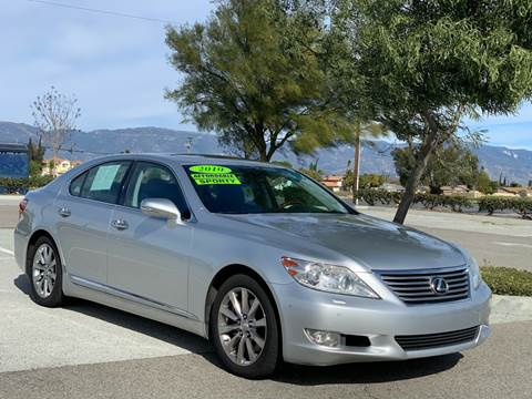2010 Lexus LS 460 for sale at Esquivel Auto Depot in Rialto CA
