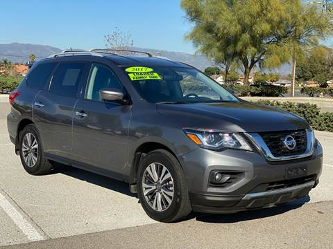 2017 Nissan Pathfinder for sale at Esquivel Auto Depot in Rialto CA