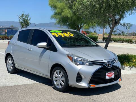2015 Toyota Yaris for sale at Esquivel Auto Depot in Rialto CA