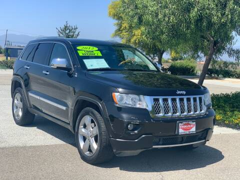 2012 Jeep Grand Cherokee for sale at Esquivel Auto Depot in Rialto CA