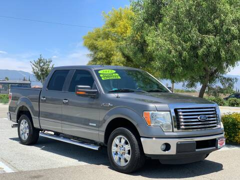 2012 Ford F-150 for sale at Esquivel Auto Depot in Rialto CA