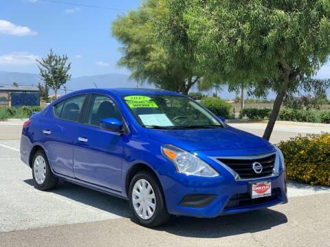 2017 Nissan Versa for sale at Esquivel Auto Depot in Rialto CA