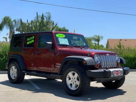 2010 Jeep Wrangler Unlimited for sale at Esquivel Auto Depot in Rialto CA