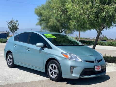 2015 Toyota Prius for sale at Esquivel Auto Depot in Rialto CA