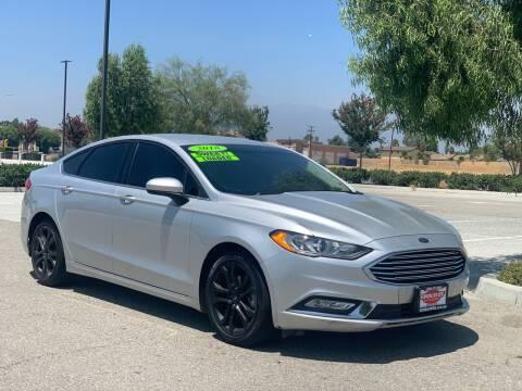 2018 Ford Fusion for sale at Esquivel Auto Depot in Rialto CA