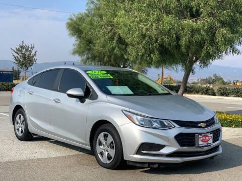 2018 Chevrolet Cruze for sale at Esquivel Auto Depot in Rialto CA