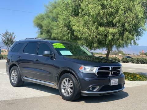 2016 Dodge Durango for sale at Esquivel Auto Depot in Rialto CA