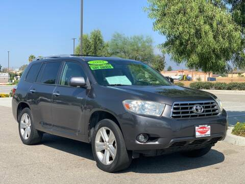 2008 Toyota Highlander for sale at Esquivel Auto Depot in Rialto CA