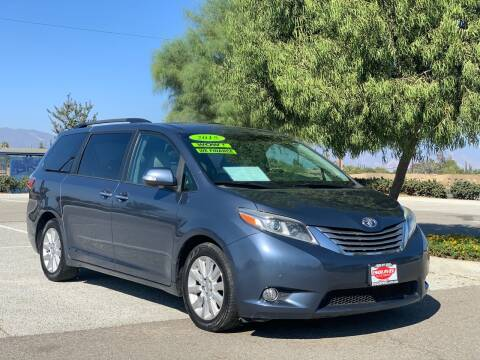 2015 Toyota Sienna for sale at Esquivel Auto Depot in Rialto CA