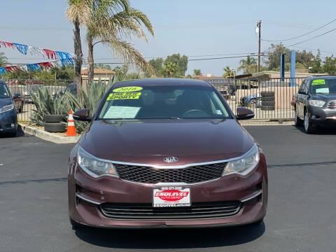 2016 Kia Optima for sale at Esquivel Auto Depot in Rialto CA